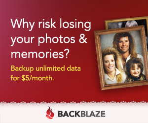 Unlimited file backup with Backblaze