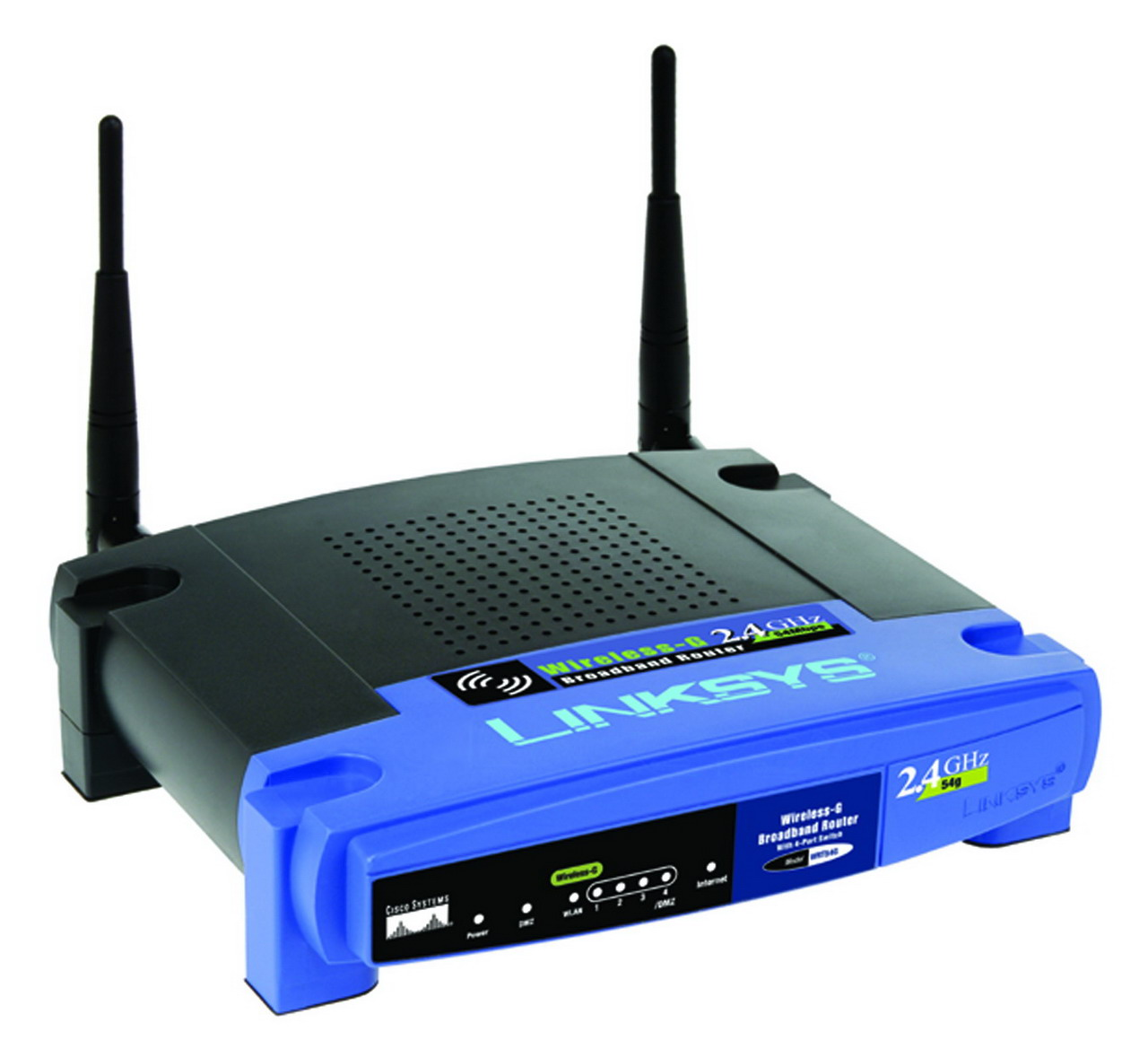 How to Reset the Linksys WRT54G Wireless-G Router
