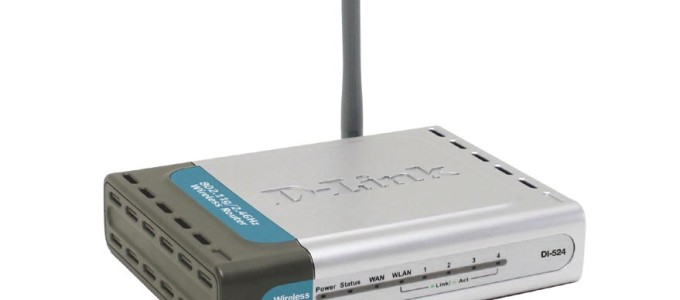 Securing the D-link DI-524 Wireless Router