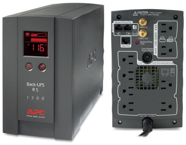 My New UPS: APC Back-UPS RS 1300VA • Technically Easy