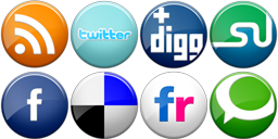 CSS Sprite - Social Media Icons