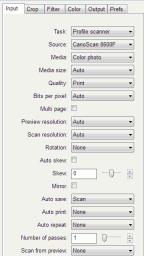 VueScan - Task - Profile Scanner
