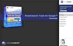 Dreamweaver Tools For Google 2