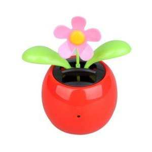 Solar Flower Pot Spy Camera