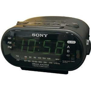 Sony Spy Camera Clock
