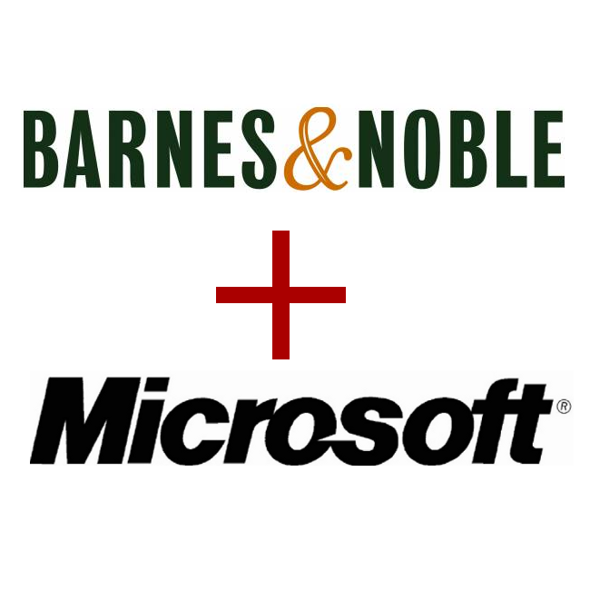 Microsoft Partners With Barnes & Noble