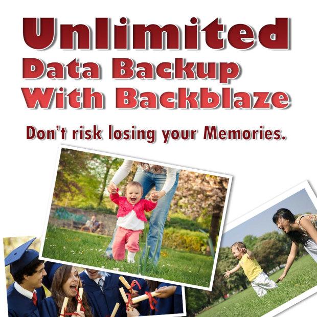 Unlimited Data Backup With Backblaze