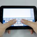 Samsung Galaxy Tab Typing