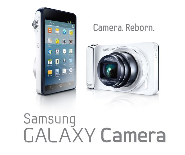 A First Look At Samsung Galaxy Camera – An Android-Based Compact Shooter