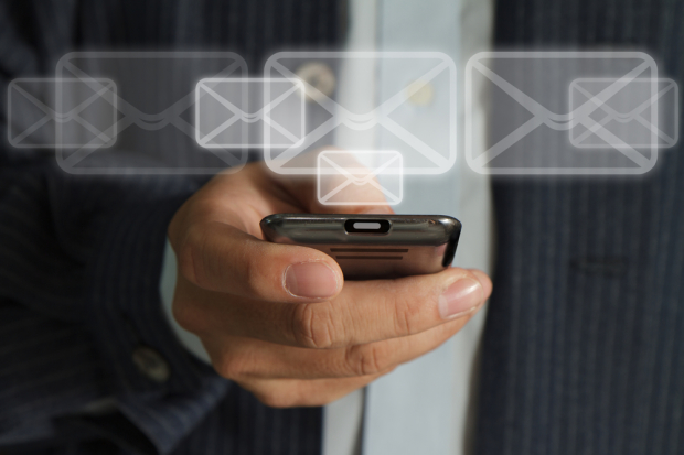 Email on Smartphone