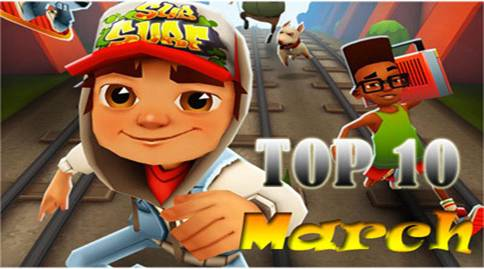 top 5 android games 2013