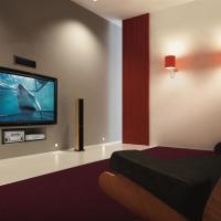 Plasma TV in Home Theater
