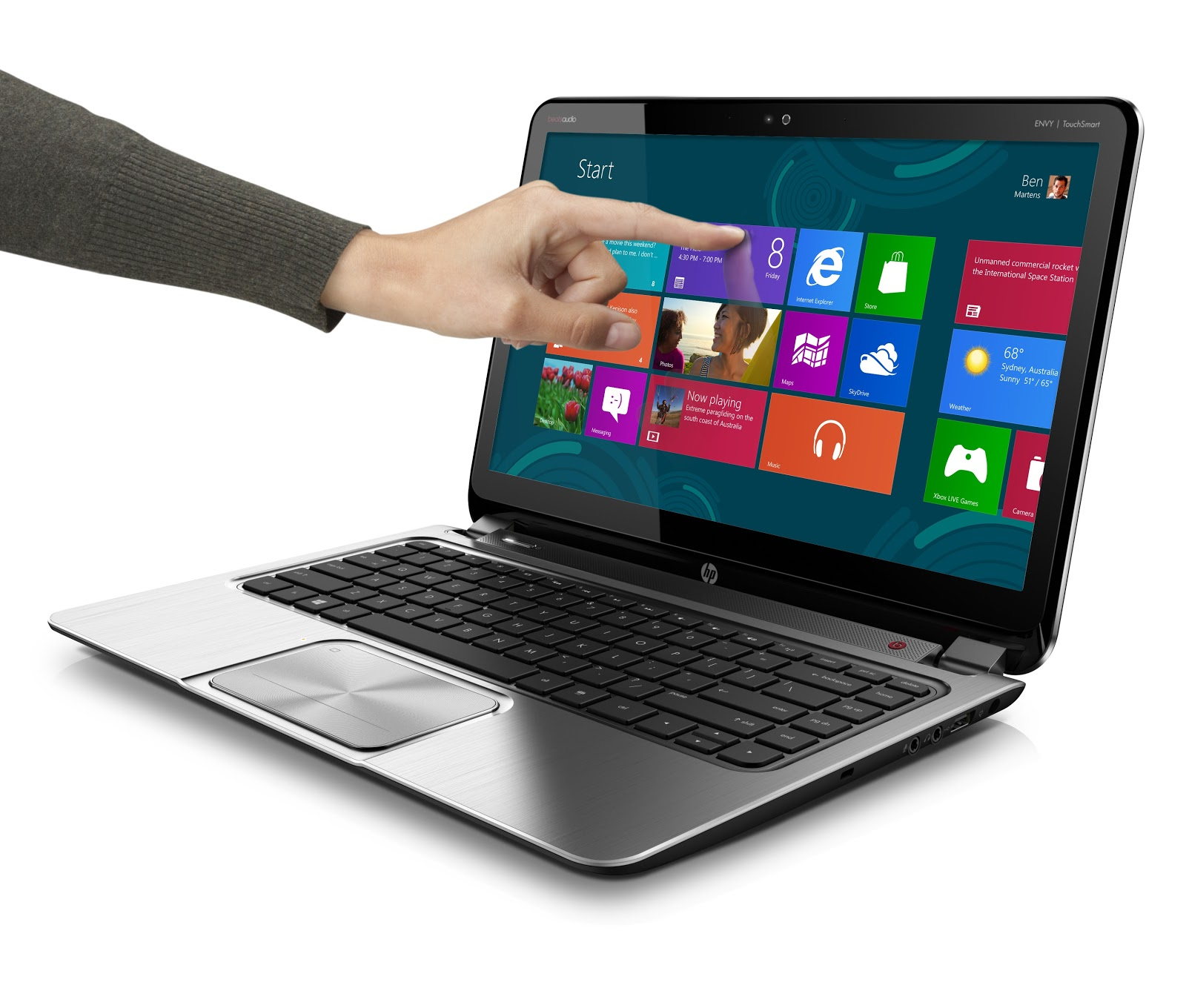 Top 5 Touch Enabled Windows 8 Laptops