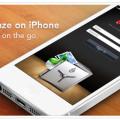 BackBlaze on iPhone