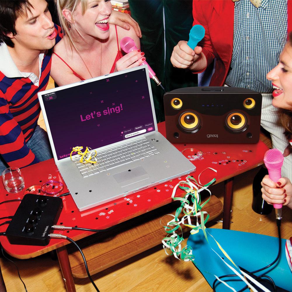 turn into karaoke machine