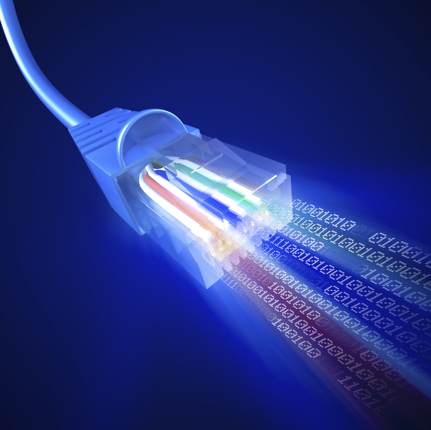 High-speed broadband internet penetration