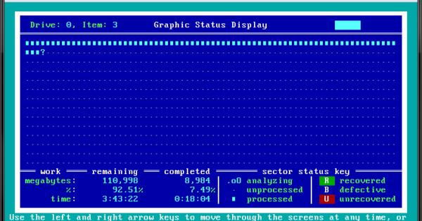 SpinRite Running in VirtualBox