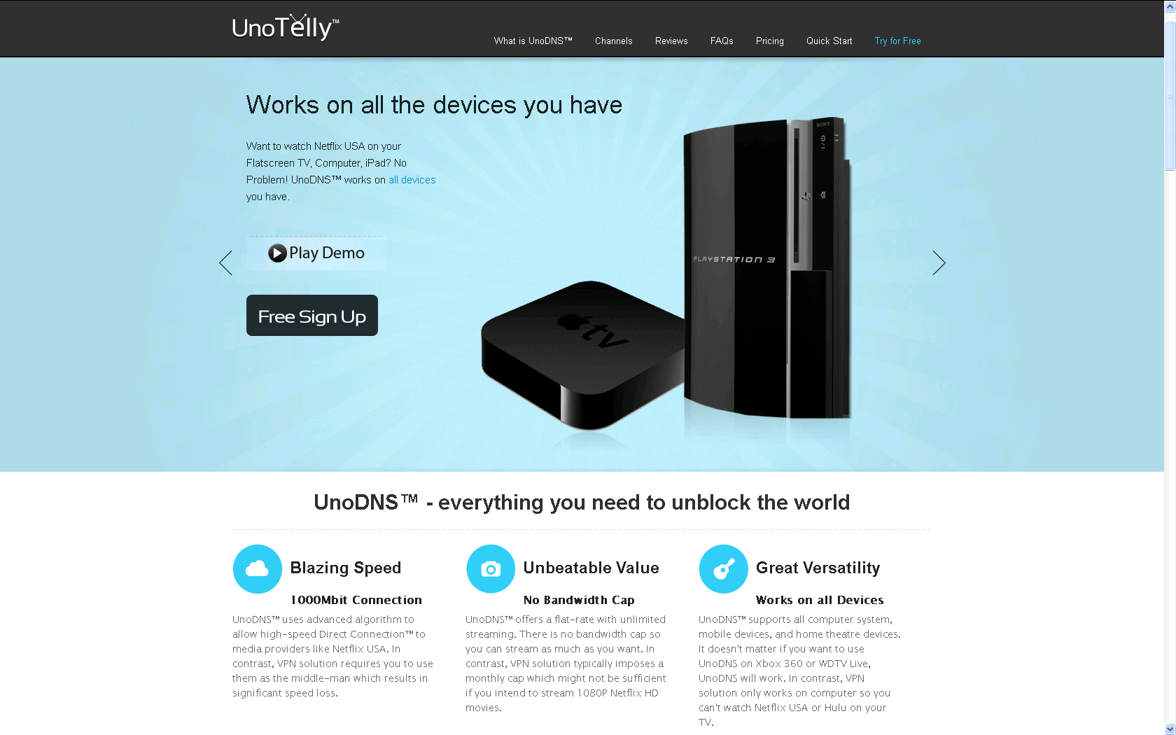 UnoDNS from UnoTelly Review