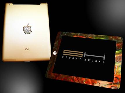 iPad Case With Crush T-rex Bone