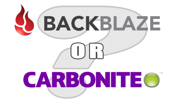 Backblaze or Carbonite: Which Do You Need?