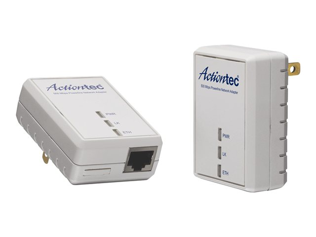 Actiontec 500Mbps Powerline Network Adapter Kit (PWR511K01) Review