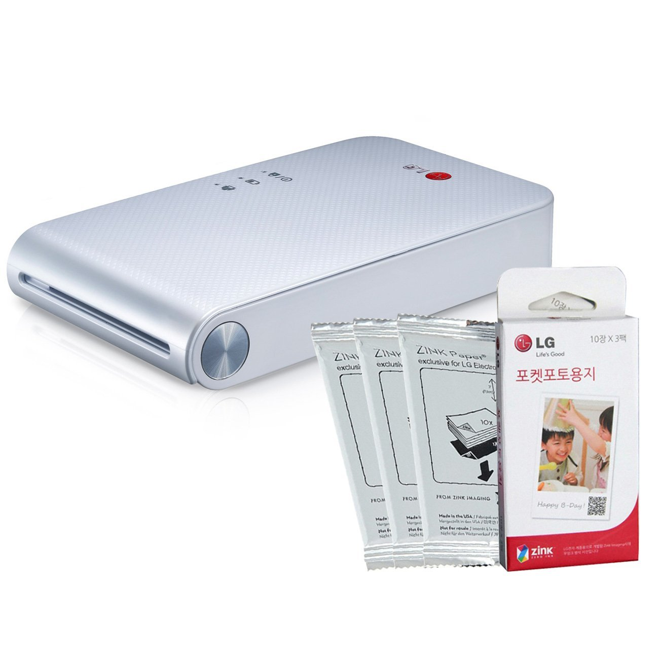 Interesting Gadget: A Portable Smartphone Printer – LG PD239