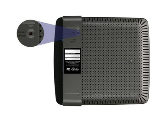 Linksys EA2700 Reset Button