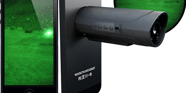 The Snooperscope Brings Night Vision Tech To Your Smartphone